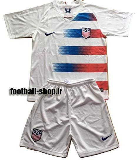 تصویر پیراهن شورت اول اریجینال آمریکا(بچه گانه)2019-Nike