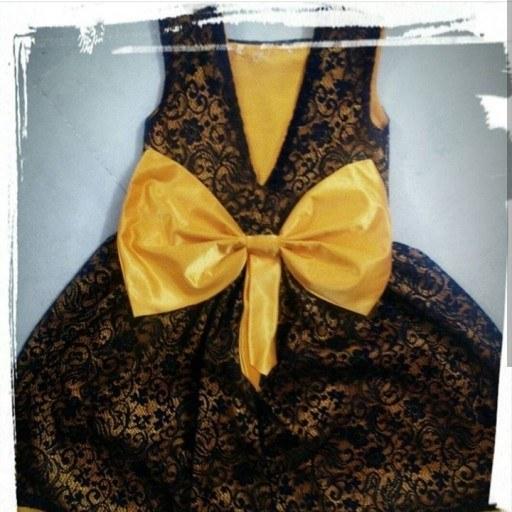 لباس دخترانه ی مدل پروانه |