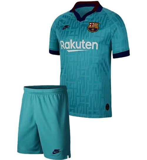 خرید کیت سوم بارسلونا ۲۰۲۰-پیراهن شورت  