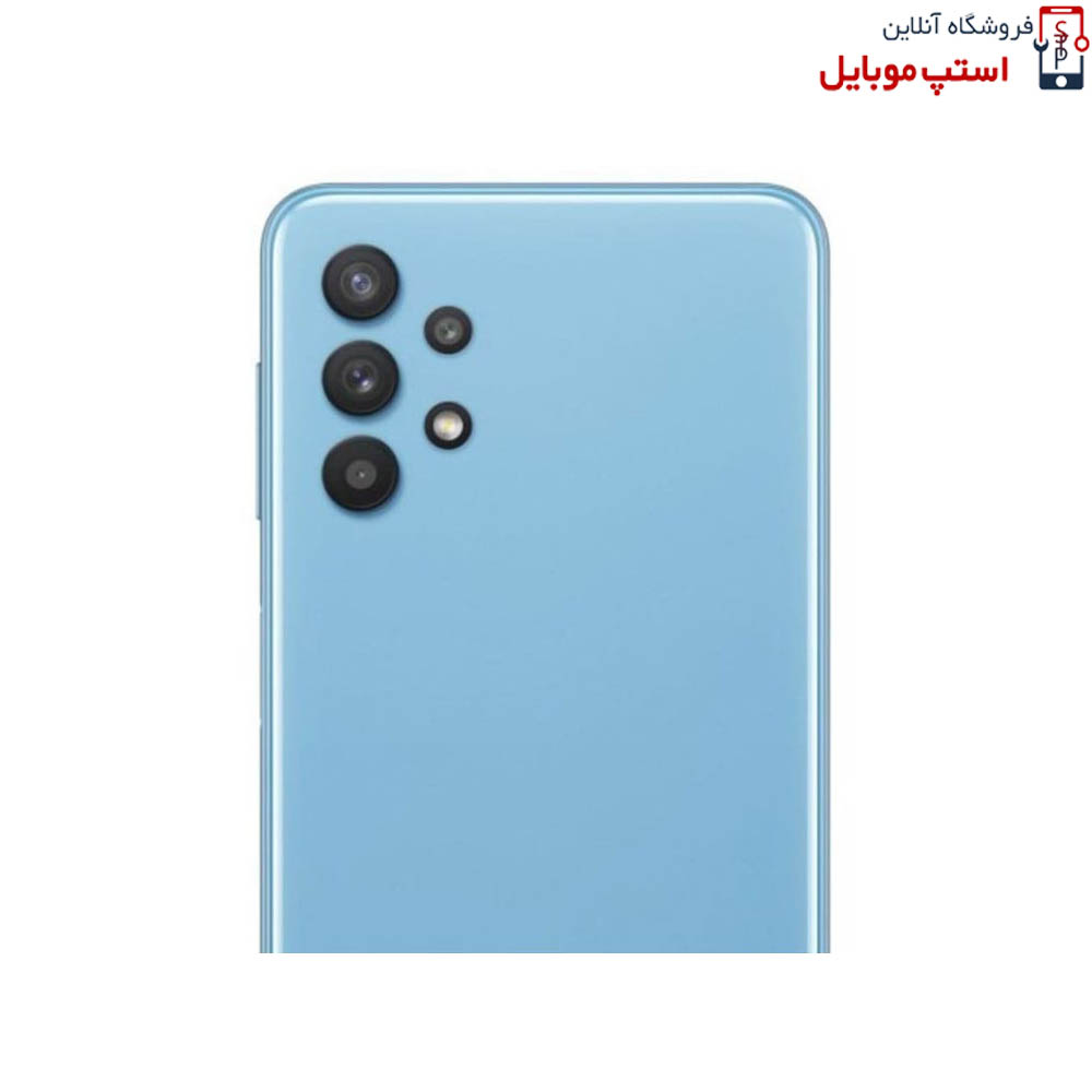 تصویر محافظ لنز دوربین گوشی سامسونگ Samsung Galaxy A32 4G  از نوع شیشه ای