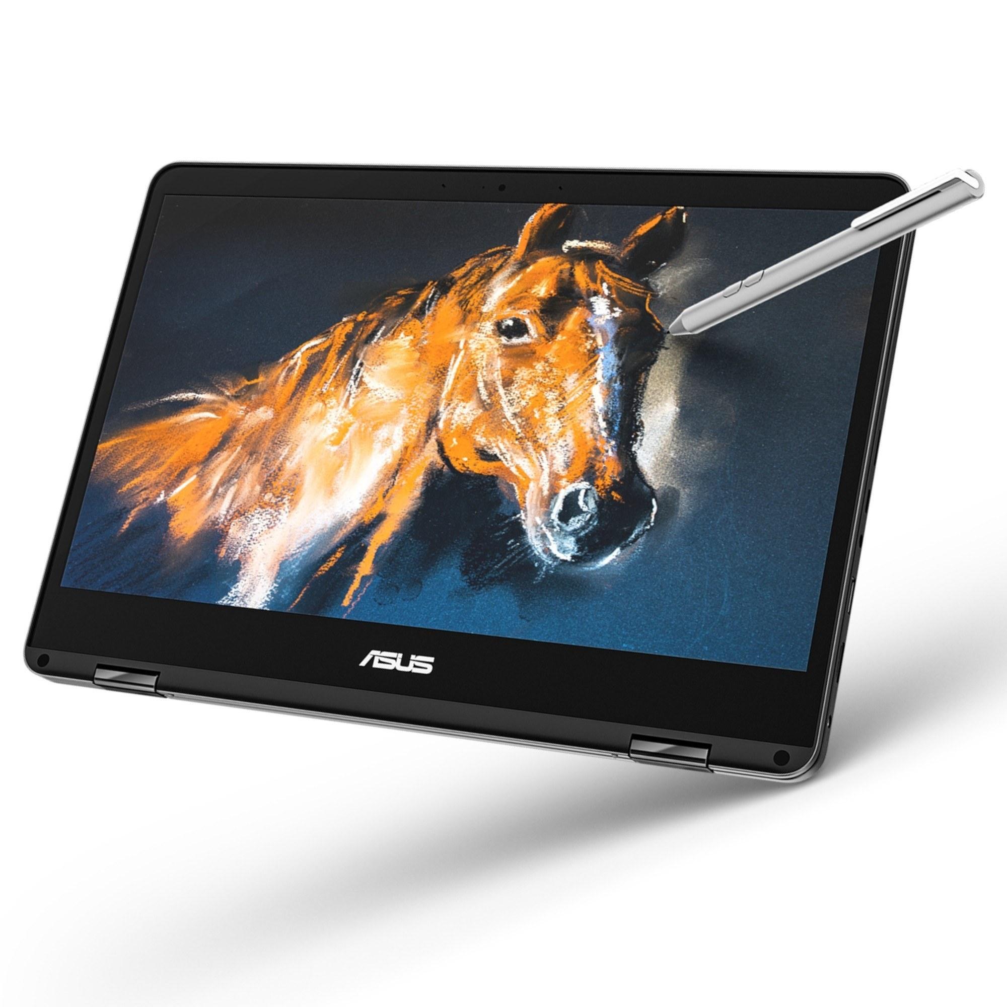 عکس لپ تاپ ASUS ZenBook Flip 14 UX461FA  لپ-تاپ-asus-zenbook-flip-14-ux461fa