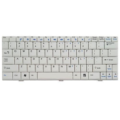 main images کیبرد لپ تاپ ام اس آی U100 سفید Keyboard Laptop MSI U100 White