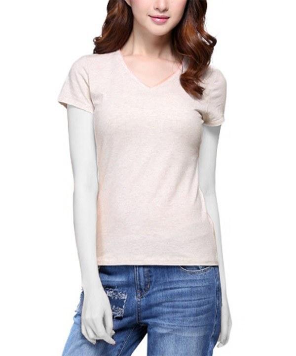 تی شرت یقه هفت زنانه جین وست