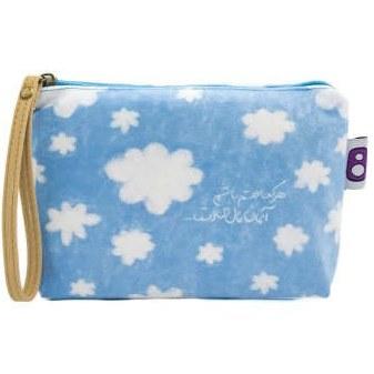 کیف لوازم آرایش زنانه هیدورا طرح ابر |
