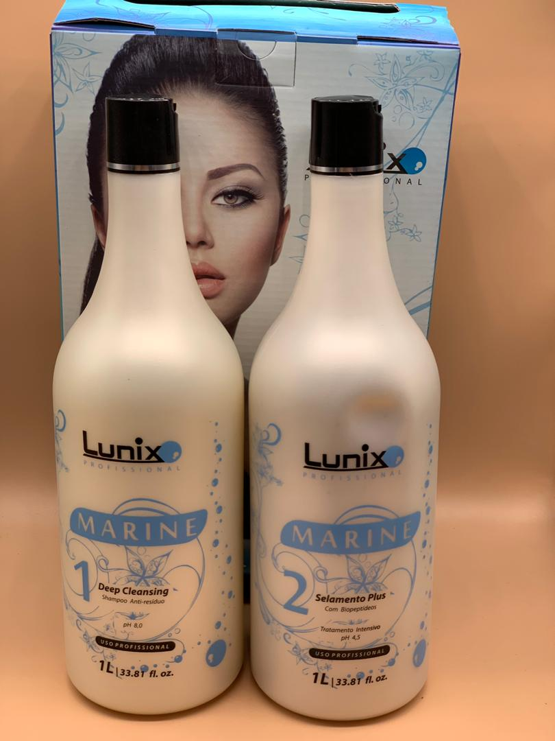 تصویر کراتین مو لونیکس Lunix ا Lunix marine hair Keratin Lunix marine hair Keratin