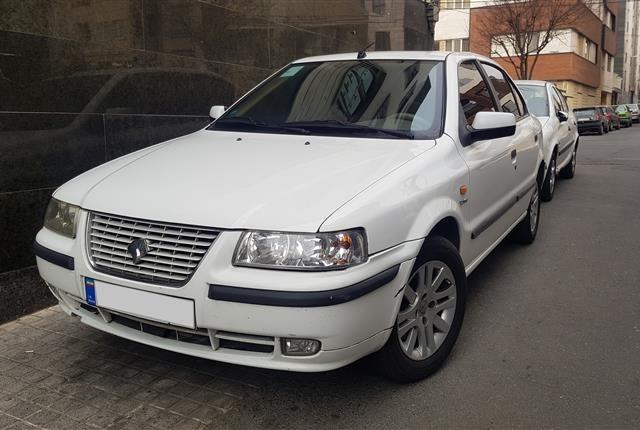خودروهای ایران خودرو، سمند، ef7، 1395 |