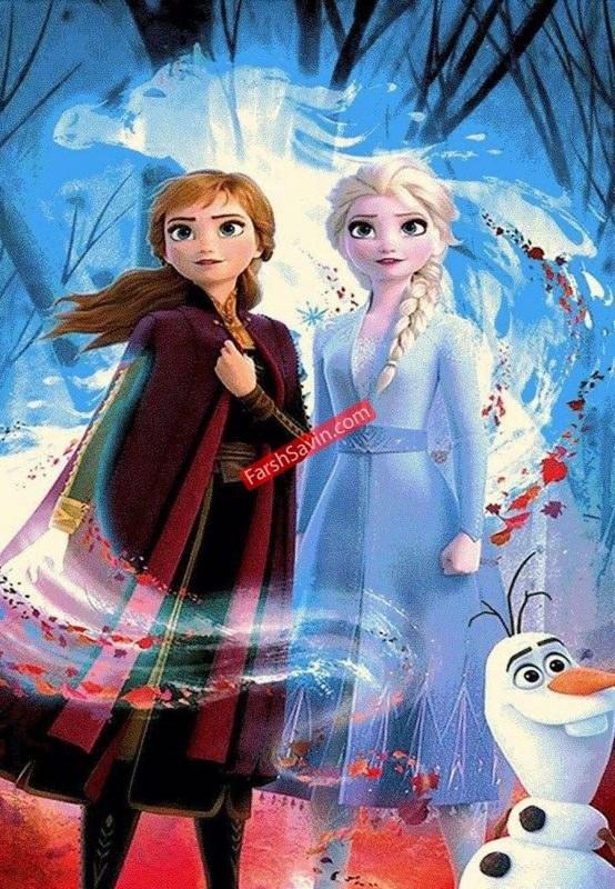 تصویر السا و آنا