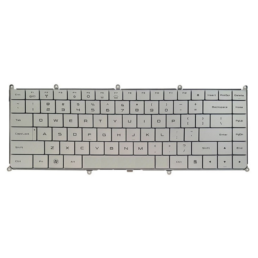 عکس کیبورد لپ تاپ دل مدل XPS Adamo۱۳ Silver DELL  XPS Adamo13 Silver Notebook Keyboard کیبورد-لپ-تاپ-دل-مدل-xps-adamo13-silver