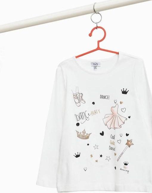 تی شرت آستین بلند اُ وی اس با کد 1385561331 | تی شرت آستین بلند کودک / نوجوان اُ وی اس