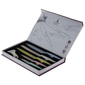 ست چاقو 6 پارچه ویله مدل VI-03 | Ville VI-03 Knife Set 6 Pcs