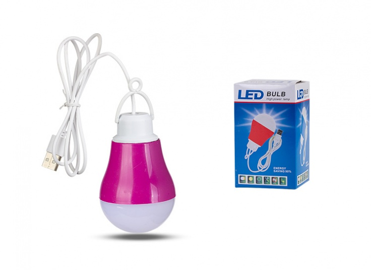 لامپ سیار USB LED سری Colored body