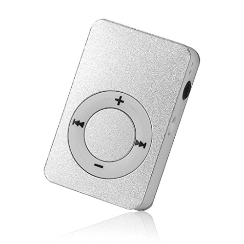 Start Mp3 Player Mini USB Digital Mp3 Music Player Support SD TF Card -Silver