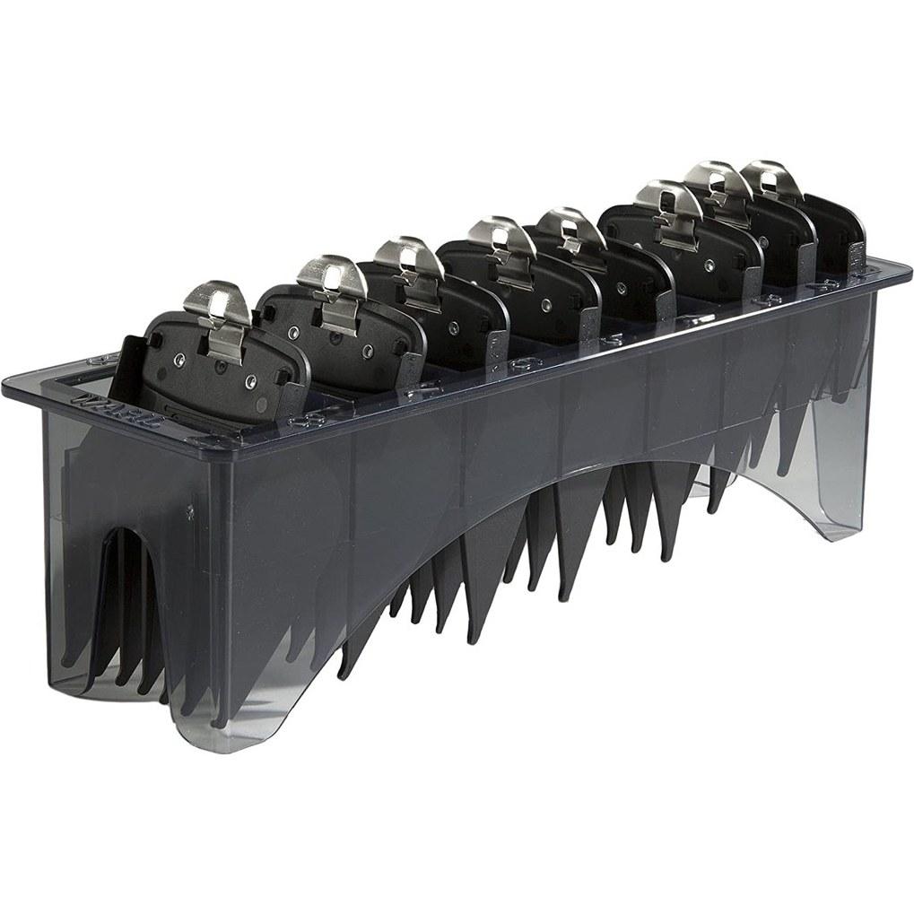 تصویر ست شانه ماشین اصلاح وال مدل ۳۱۷۱-۵۰۰ Wahl Professional Premium Black Cutting Guides #3171-500