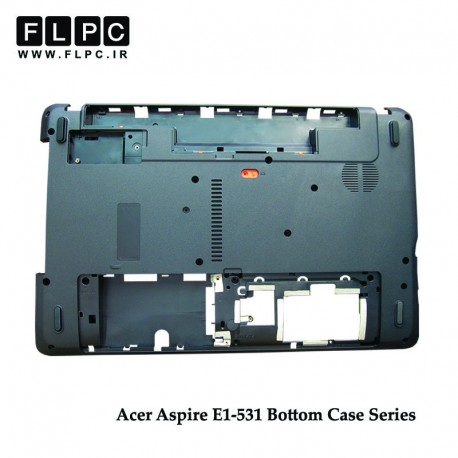 تصویر قاب کف لپ تاپ ایسر E1-531 مشکی Acer Aspire E1-531 Laptop Bottom Case - Cover D