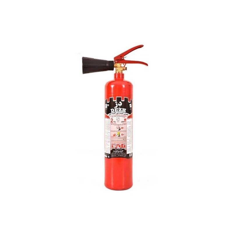کپسول آتش نشانی Co2 دو کیلویی دژ