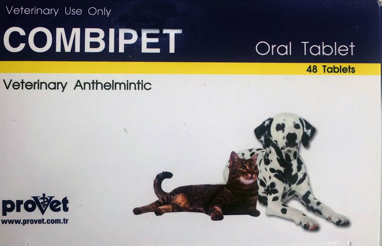 قرص ضد انگل مخصوص سگ و گربه