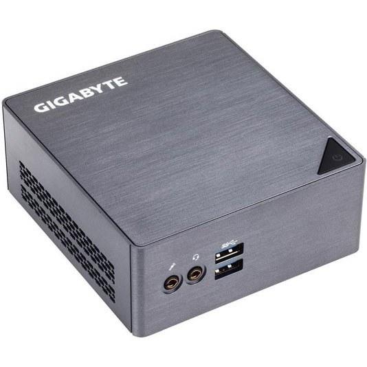 تصویر کیس آماده گیگابایت مدل BRIX با پردازنده i5 GigaByte BRIX GB-BSi5H-6200 Core i5 Mini Desktop PC