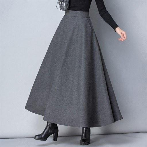 عکس دامن زنانه پشمی (سایز سفارشی)  دامن-زنانه-پشمی-سایز-سفارشی