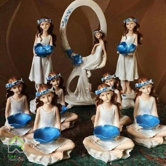تصویر مجموعه ظروف هفت سین فرشته