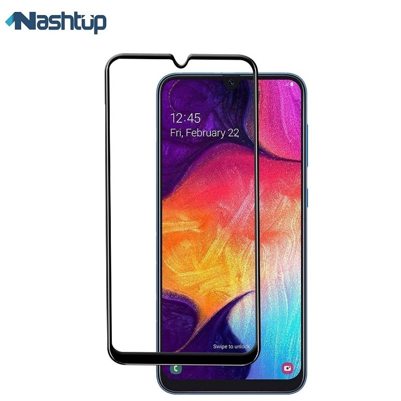 گلس فول و محافظ تمام صفحه گوشی Samsung Galaxy A70 | Samsung Galaxy A70 Full screen protector