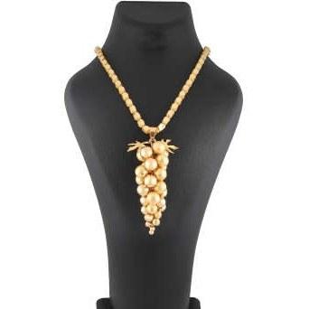 گردنبند طلا 18 عیار زنانه کد G455