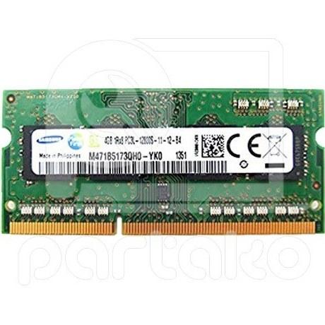 تصویر رم لپ تاپ 4 گیگ سامسونگ RAM Samsung 4GB DDR3L 1600