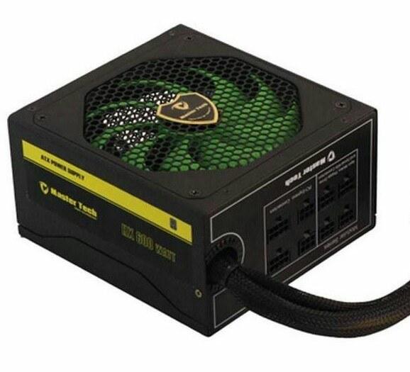 تصویر پاور مسترتک مدل اچ ایکس 600 دبلیو پاور مسترتک HX600W Semi Modular Computer Power Supply