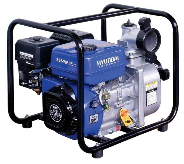 تصویر پمپ آب بنزینی 3 اینچ هیوندای مدل 336-WP