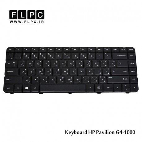 تصویر کیبورد لپ تاپ اچ پی HP Pavilion G4-1000 Laptop Keyboard مشکی