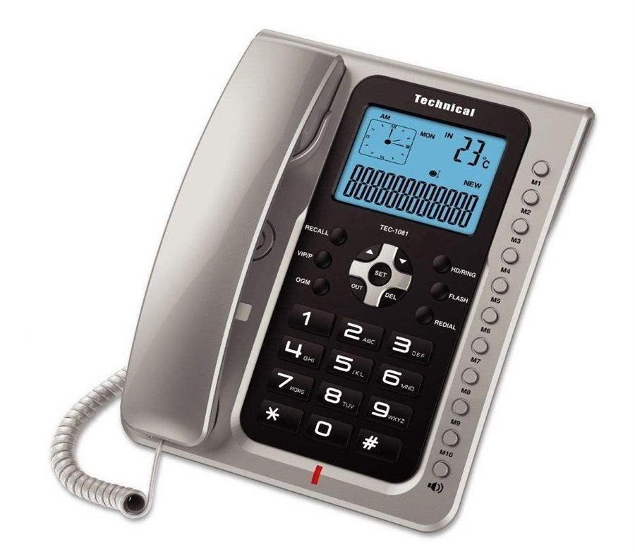 تصویر تلفن تکنیکال مدل TEC-1081
