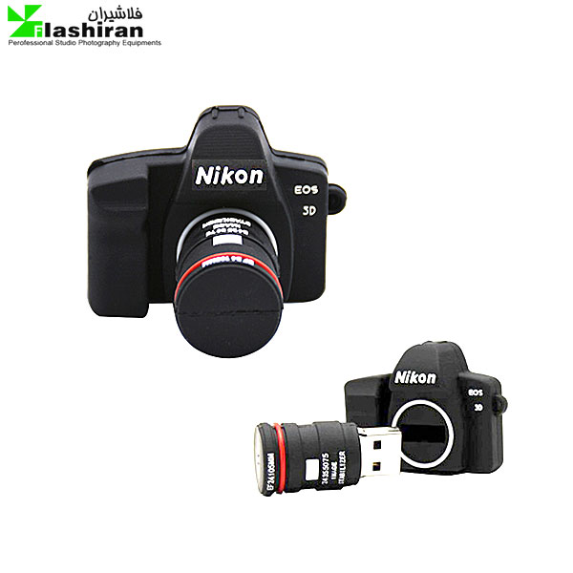 تصویر فلش مموری فانتزی سامسونگ ۳۲ گیگ مدل دوربین نیکون