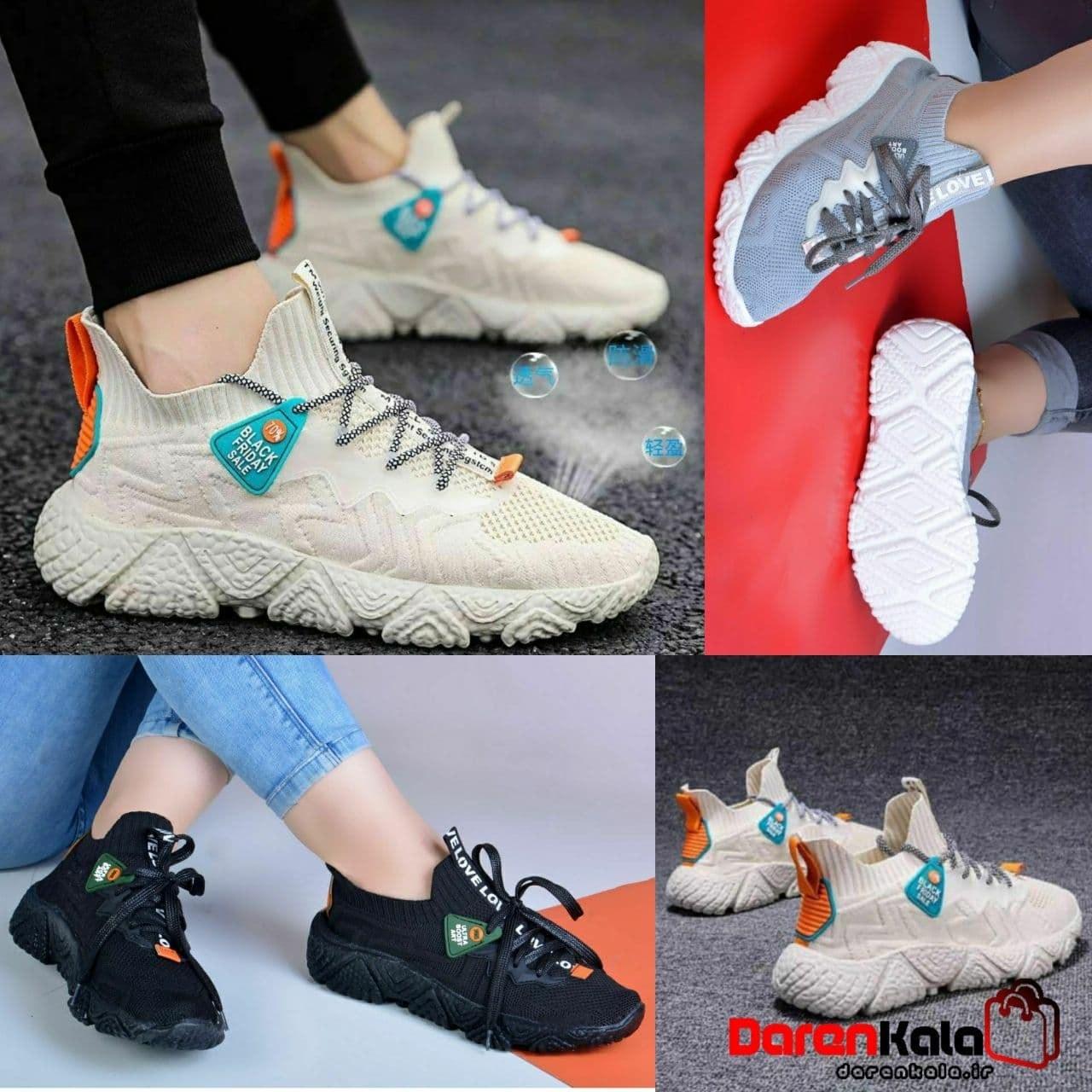 تصویر کفش کتانی بافتی زنانهDS00128