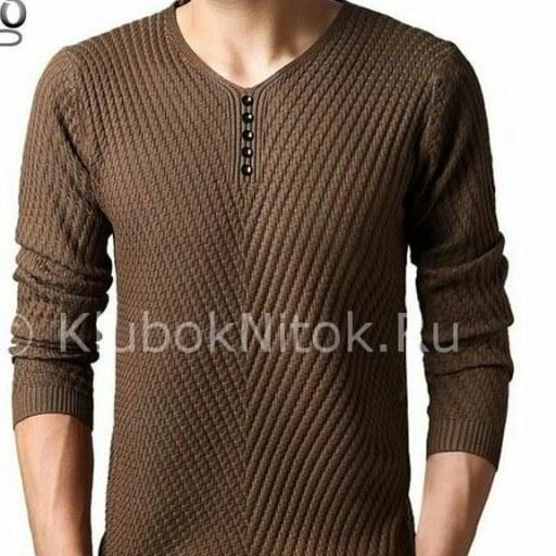 پلیور دستباف مردانه