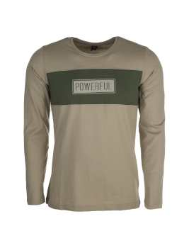 تی شرت نخی آستین بلند مردانه | Men Cotton Long Sleeve T-shirt