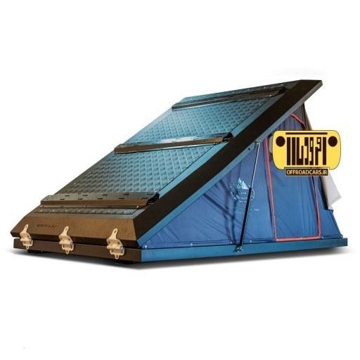 چادر سقفی یک طرفه باز شو آلومینیومی