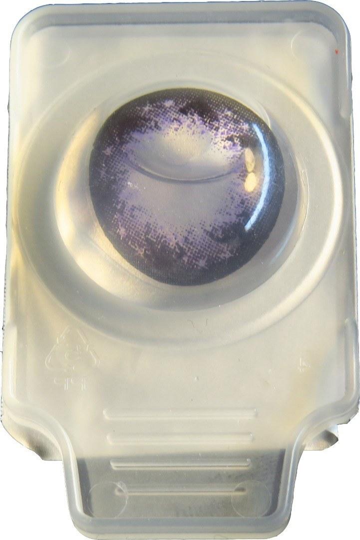 تصویر لنز چشم عروسکی بنفش،lens Lw violet