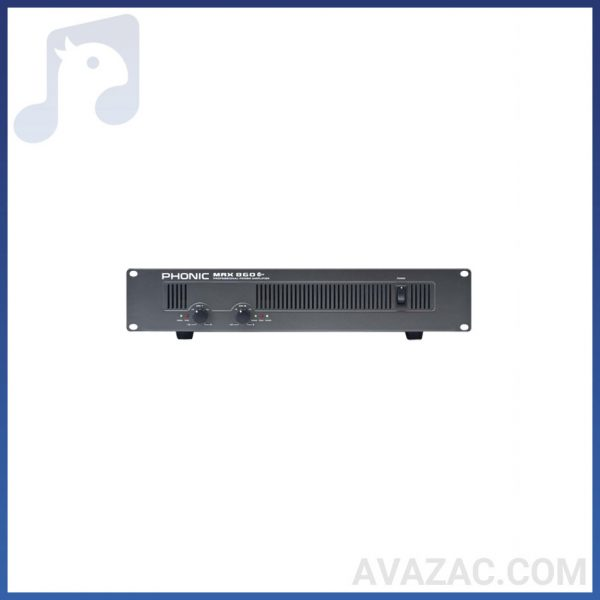 پاور آمپلی فایر اکوچنگ مدل MAX 860 |