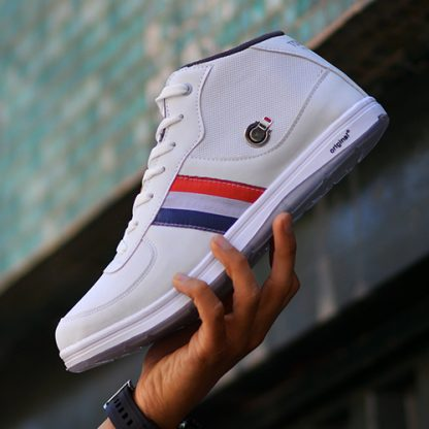 کفش ساقدار مردانه TOMMY سفید  