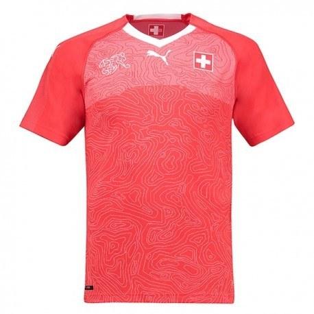پیراهن اول تیم ملی سوئیس جام جهانی 2018 World Cup Home