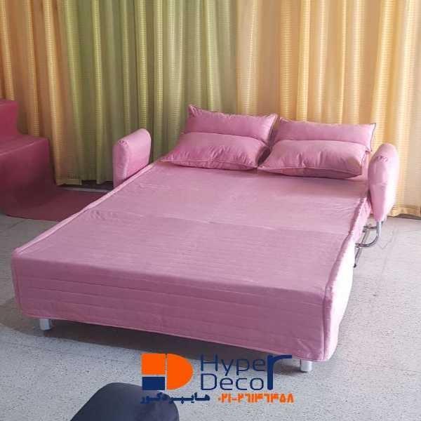 تصویر مبل تخت خواب شو دو نفره ساپنا رویال