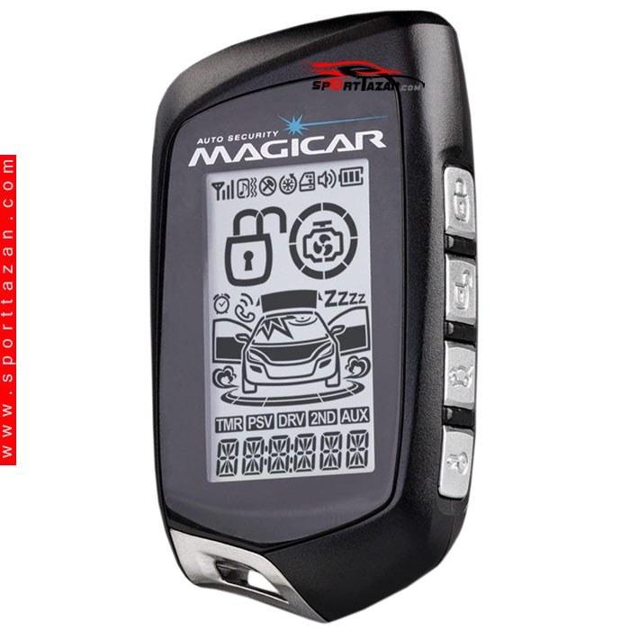 main images دزدگیر تصویری ماجیکار مدل M125A Magicar Car alarm i125A