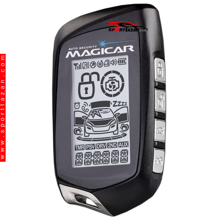 تصویر دزدگیر تصویری ماجیکار مدل M125A Magicar Car alarm i125A