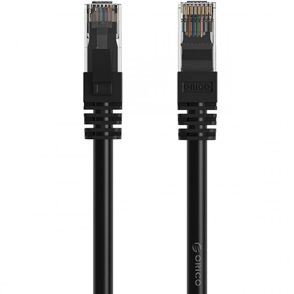 کابل شبکه CAT۶ اوریکو مدل PUG-C۶ به طول ۳۰ متر | ORICO PUG-C6 CAT6 Gigabit Ethernet Cable 30M