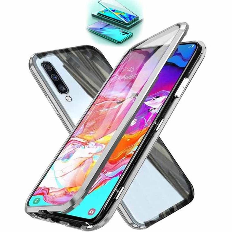 قاب مگنتی + محافظ صفحه سامسونگ Full Body Magnetic Case | Galaxy A70 |