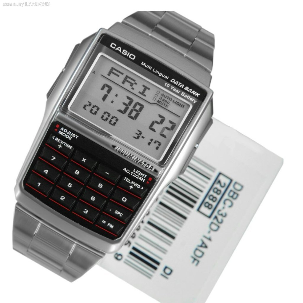 ساعت مچی مردانه Casio مدل DBC-32D-1A