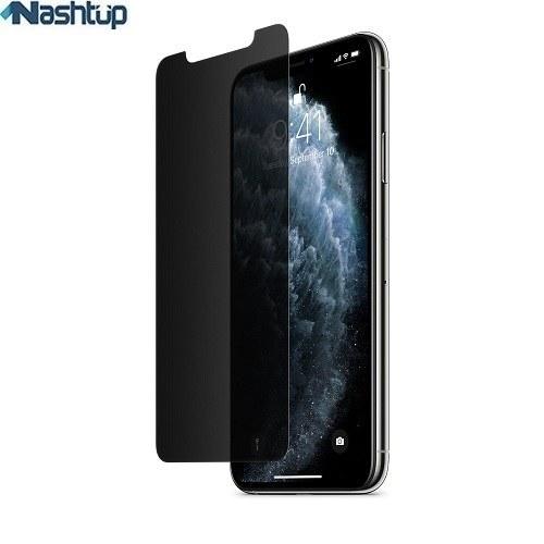 تصویر گلس پرایوسی و محافظ حریم شخصی گوشی Apple iPhone 11 Pro Privacy glass and privacy protector for Apple iPhone 11 Pro