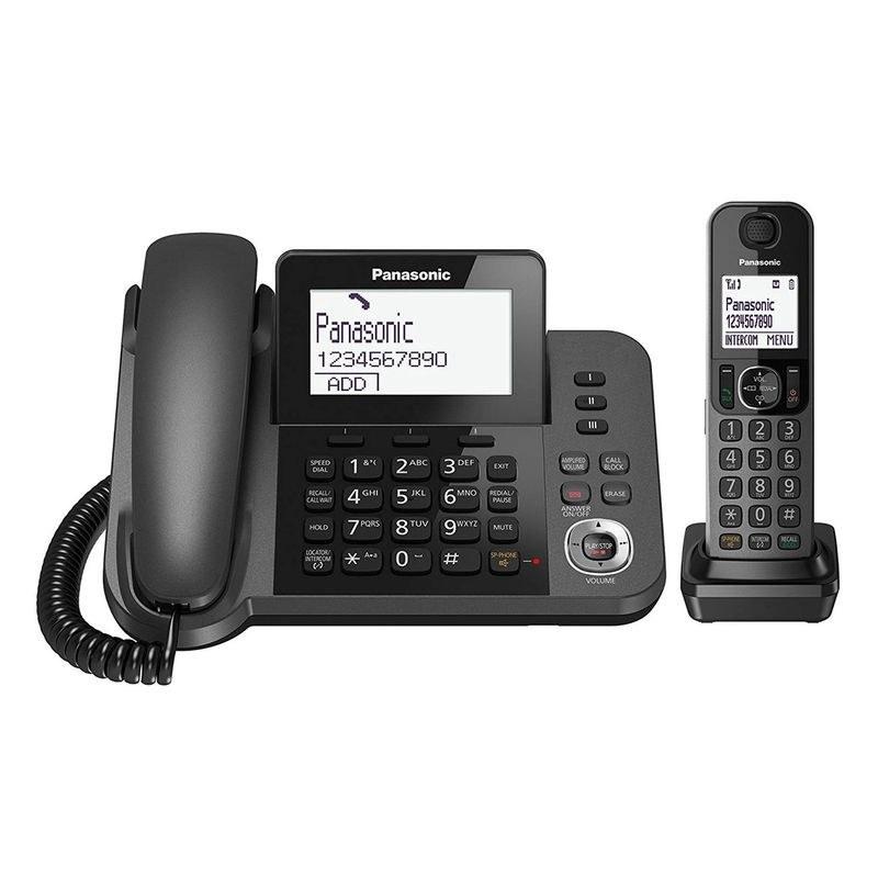تصویر تلفن دو گوشی پاناسونیک مدل KX-TGF320