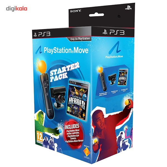 img دسته حرکتی کنسول بازی پلی استیشن ۴ SONY PlayStation 4 Move Motion Controller