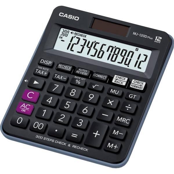 تصویر ماشین حساب کاسیو مدل MJ-120D PLUS CASIO MJ-120D Plus Calculator