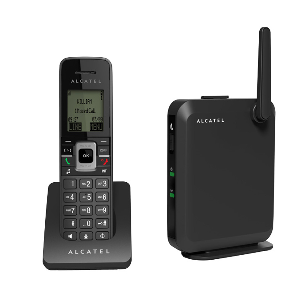 عکس تلفن تحت شبکه آلکاتل مدل 2115 Alcatel 2115 IP Phone تلفن-تحت-شبکه-الکاتل-مدل-2115